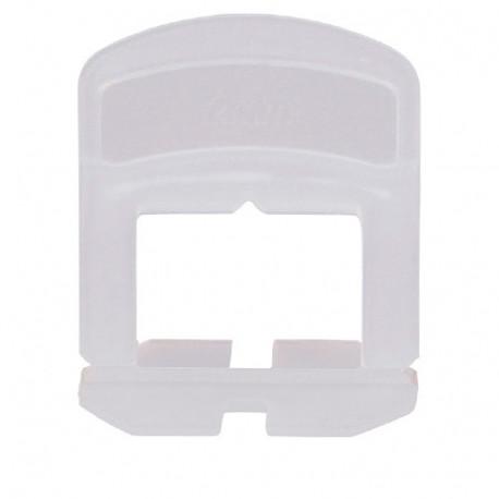 Blister de 100 croisillons 3 mm auto-nivelants de 0 à 12 mm - 11200045 - Sidamo