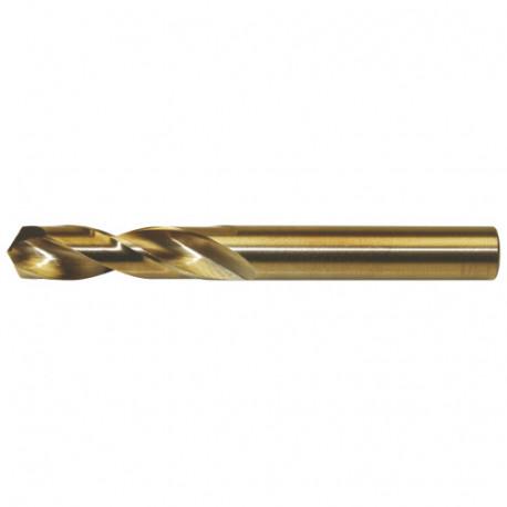 5 forets à métaux Pro série courte DIN 1897 HSS M35 5% Cobalt D. 10.0 x Lu. 43 x LT. 89 mm - AQ901000 - Labor