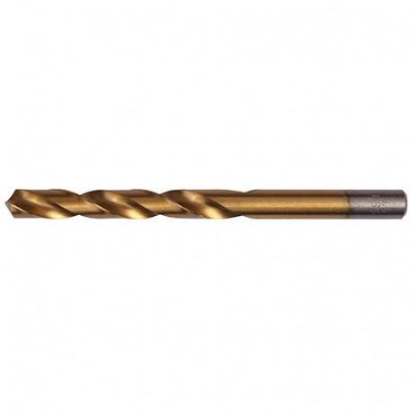 10 forets à métaux DIN 338 HSS-TiN D. 4.8 x Lu. 52 x Lt. 86 mm - AT000480 - Labor