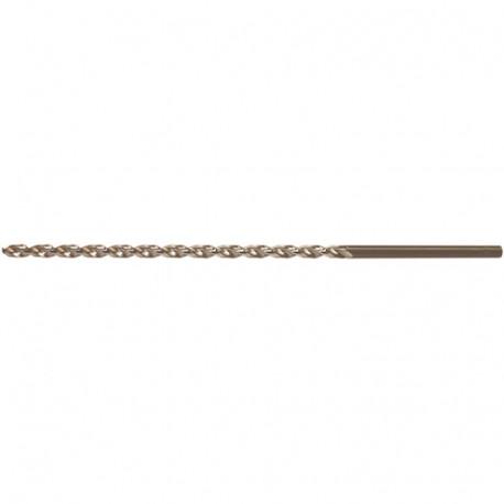 Foret à métaux extra long DIN 1869-TL HSS D. 10.2 x Lu. 185 x Lt. 265 mm - AX102265 - Labor