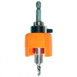 Kit terrasse perçage-fraisage ajustable Quicklock D. 3,6 x Lu. 9,5 x Lt. 108-120 x Q. 6.35 mm - FY900360 - Labor