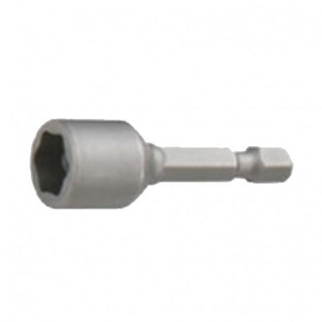 Douille de serrage magnétique Quicklock D. 7.0 x Lt. 50 mm x Q. 6,35 mm - INSM00750 - Labor