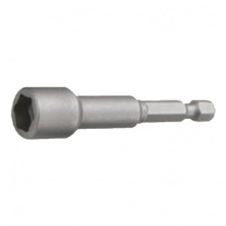 """Douille de serrage magnétique longue impériale Quicklock D. 5/16"""" x Lt. 65 mm x Q. 6,35 mm - INSMI9265 - Labor"""