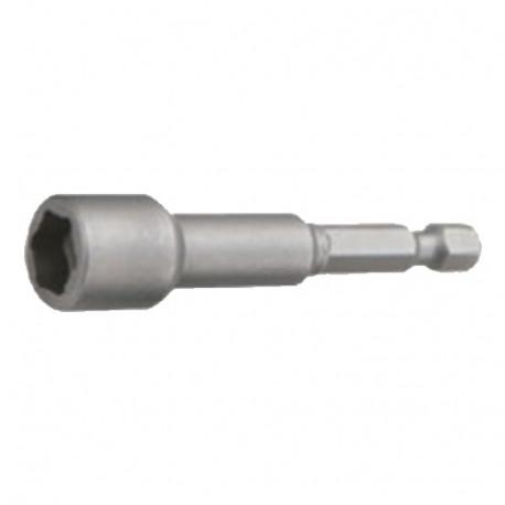 """Douille de serrage magnétique longue impériale Quicklock D. 3/8"""" x Lt. 65 mm x Q. 6,35 mm - INSMI9365 - Labor"""