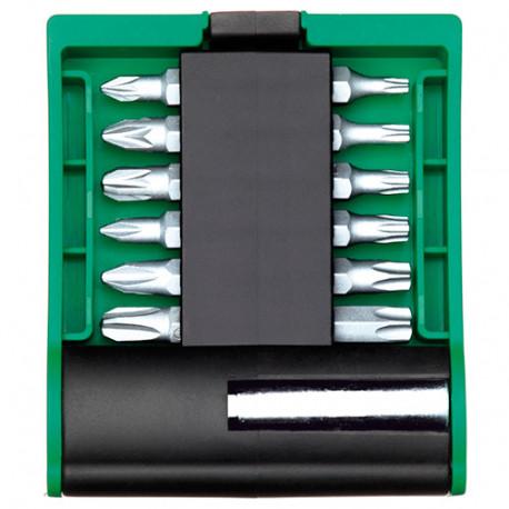Coffret 13 pcs de vissage INOX + porte embouts magnétique - IZZ00150 - Labor