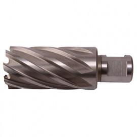 Fraise à métaux - Inox HSS M42 8% Cobalt D. 44.0 x Lu. 50 mm x Q. WELDON pour perceuse magnétique - LN440500 - Labor