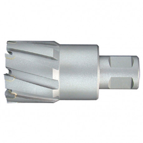 Fraise à métaux durs TCT carbure D. 29.0 x Lu. 50 mm x Q. WELDON pour perceuse magnétique - LT290500 - Labor