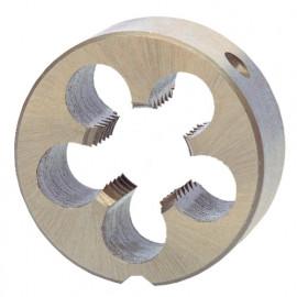 Filière ronde à métaux DIN EN 22568 HSS M6 x 1.00 x D. 20 x ép. 7 mm - SC237060 - Labor