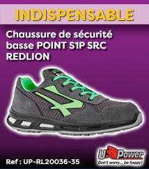 Chaussure de sécurité REDLION Point