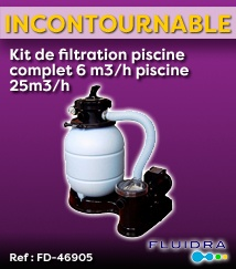 Kit de filtration Piscine Fluidra