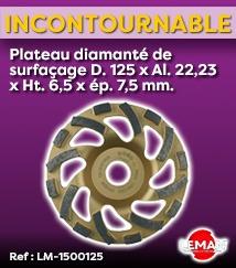 Plateau diamanté Leman