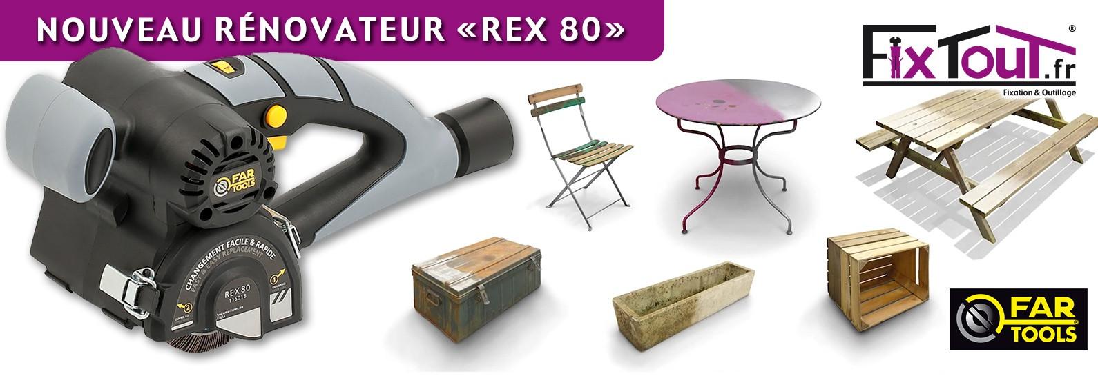 Nouveau Rénovateur Fartools REX80