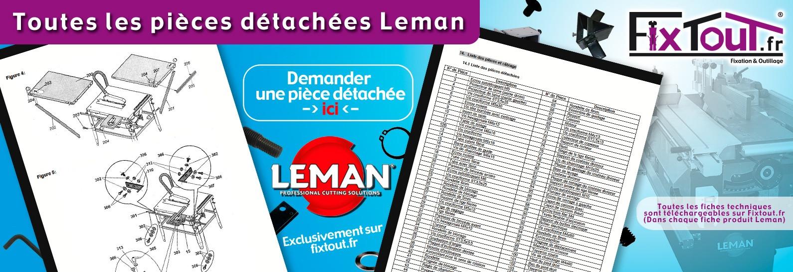 Pièces détachées Leman